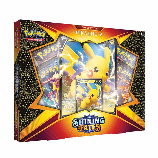 Pokemon TCG Shining Fates Pikachu V Box (PRE-ORDER) - The Feisty Lizard Melbourne Australia