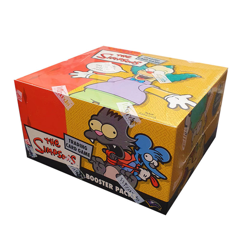 The Simpsons Trading Card Game Wizards of the Coast Booster Box
