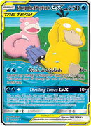 218/236 Slowpoke & Psyduck GX Tag Team Ultra Rare - The Feisty Lizard Melbourne Australia
