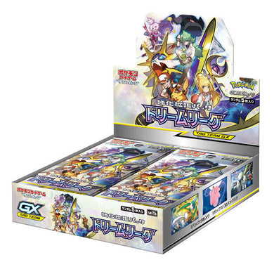 Pokemon TCG Sun & Moon SM11b Dream League Booster Box Japanese - The Feisty Lizard