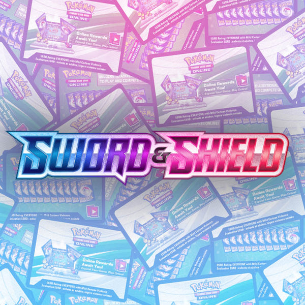 Pokemon TCG Sword & Shield PTCGO Online Codes x36 - The Feisty Lizard Melbourne Australia