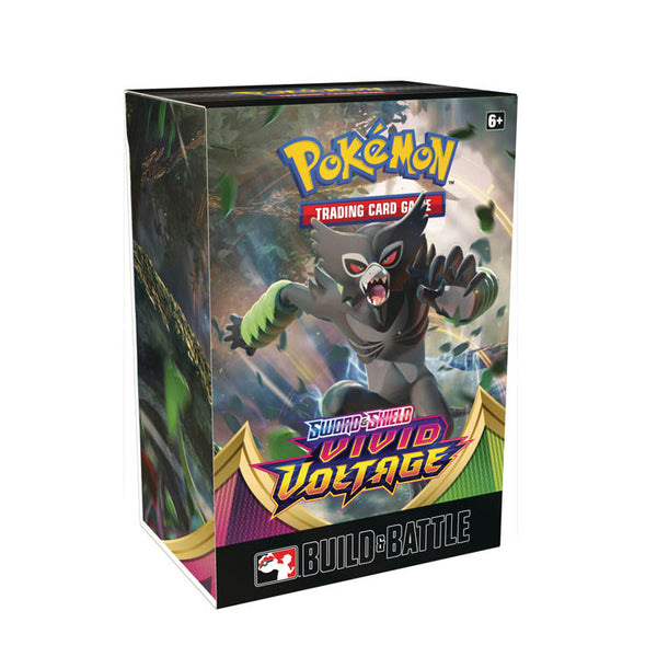 Pokemon TCG Sword & Shield Vivid Voltage Build & Battle Box (PRE-ORDER) - The Feisty Lizard Melbourne Australia