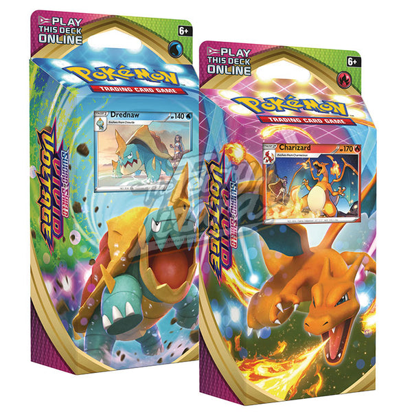 Pokemon TCG Sword & Shield Vivid Voltage Theme Deck - The Feisty Lizard Melbourne Australia