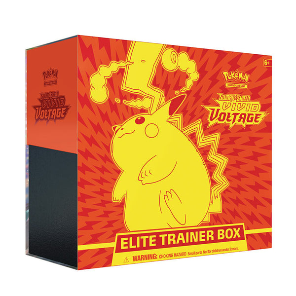 Pokemon TCG Sword & Shield Vivid Voltage Elite Trainer Box (PRE-ORDER DROP 2) - The Feisty Lizard Melbourne Australia