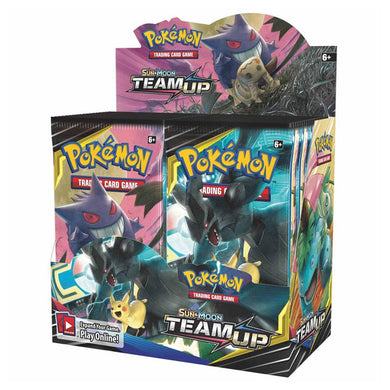 Pokemon TCG Sun & Moon Team Up Booster Box - The Feisty Lizard