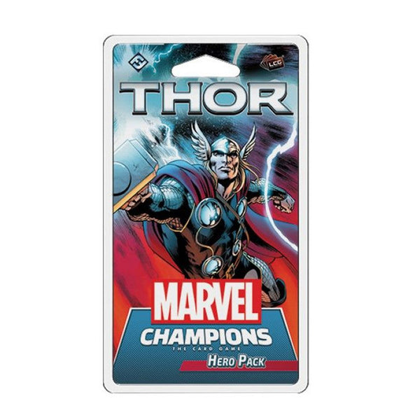 Marvel Champions LCG Thor Hero Pack (PRE-ORDER) - The Feisty Lizard