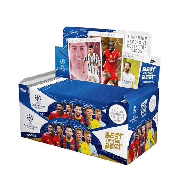Topps UEFA Champions League 2021 Best of the Best Booster Box - The Feisty Lizard Melbourne Australia