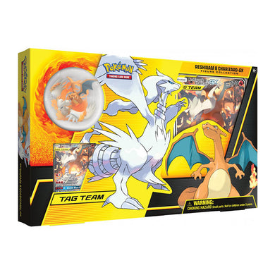 Pokemon TCG Reshiram & Charizard GX Premium Collection Box - The Feisty Lizard