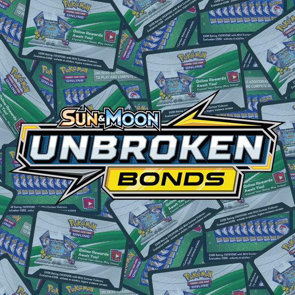 Pokemon TCG Sun & Moon Unbroken Bonds PTCGO Online Code x36 - The Feisty Lizard Melbourne Australia