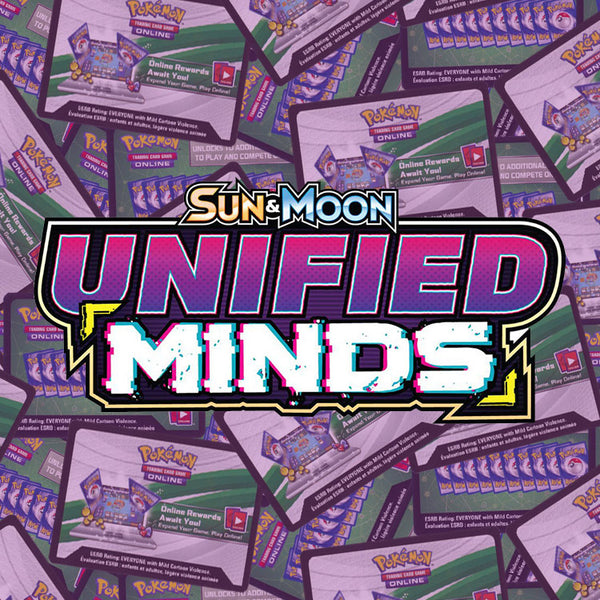 Pokemon TCG Sun & Moon Unified Minds PTCGO Online Code x36 - The Feisty Lizard