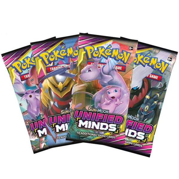 Pokemon TCG Sun & Moon Unified Minds Booster Pack - The Feisty Lizard
