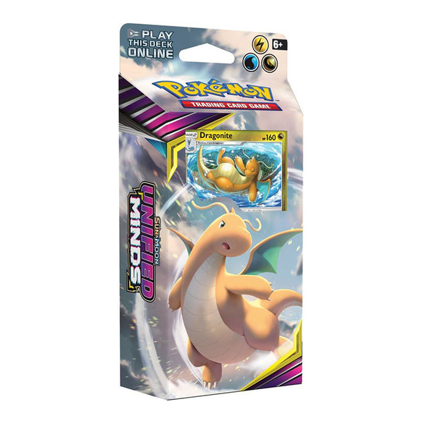 Pokemon TCG Sun & Moon Unified Minds Theme Deck Dragonite - The Feisty Lizard
