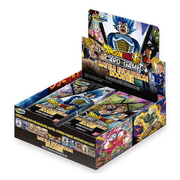 Dragon Ball Super Card Game Unison Warrior Battle Evolution EB01 Booster Box (PRE-ORDER) - The Feisty Lizard Melbourne Australia