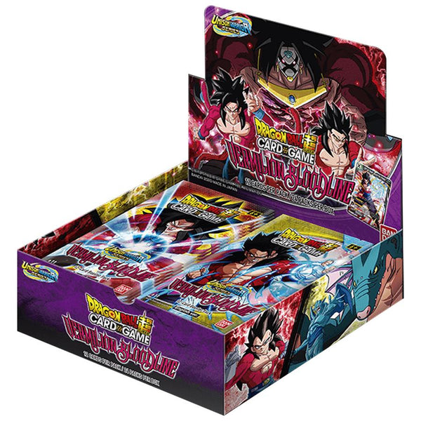 Dragon Ball Super TCG Unison Warrior Series Set 2 Vermilion Bloodline Booster Box - The Feisty Lizard Melbourne Australia