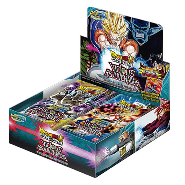 Dragon Ball Super TCG Unison Warrior Series 12 Vicious Rejuvenation Booster Box - The Feisty Lizard