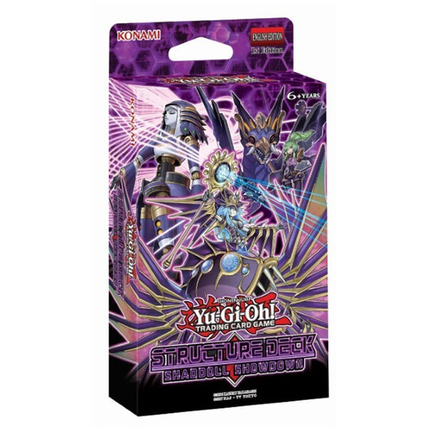 Yu-Gi-Oh! TCG Shaddoll Showdown Structure Deck - The Feisty Lizard Melbourne Australia