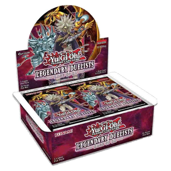 Yu-Gi-Oh! TCG Legendary Duelist: Rage of Ra Booster Box 1st Edition - The Feisty Lizard Melbourne Australia