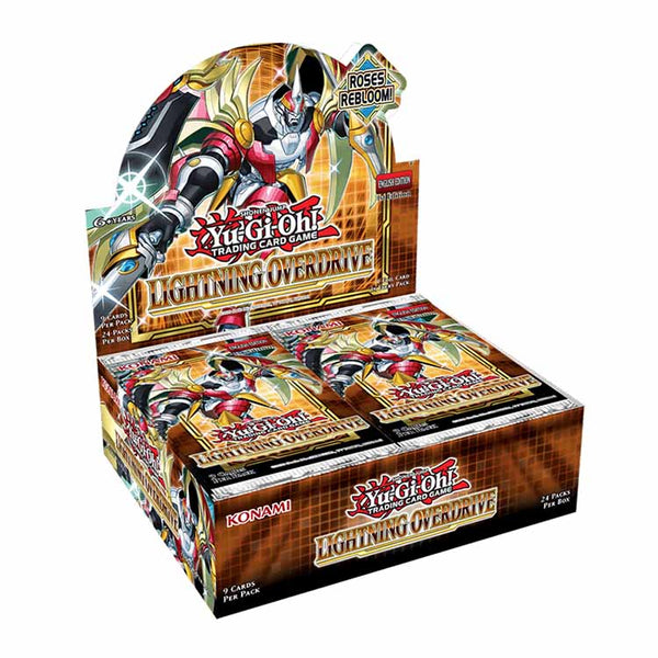 Yu-Gi-Oh! TCG TCG Lightning Overdrive Booster Box (PRE-ORDER) - The Feisty Lizard