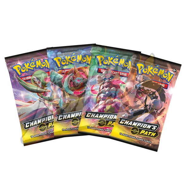Pokemon TCG Champion's Path Booster Pack - The Feisty Lizard