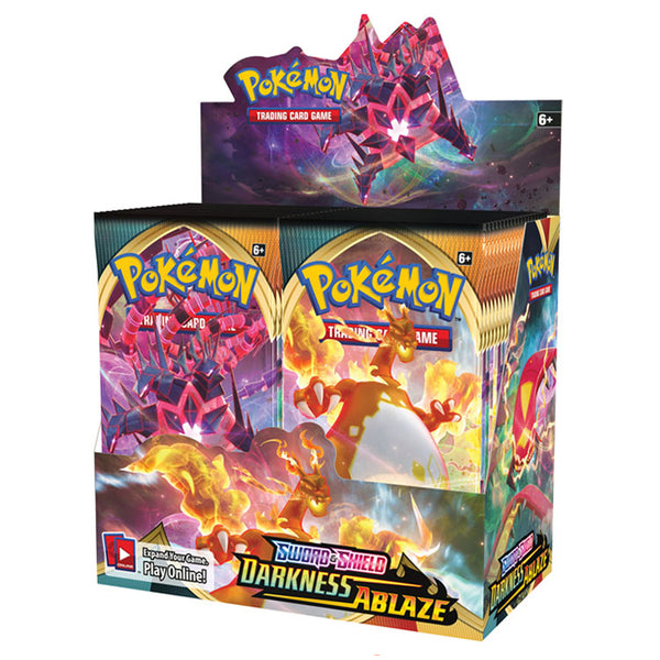 Pokemon TCG Sword & Shield Darkness Ablaze Booster Box The Feisty Lizard Melbourne Australia