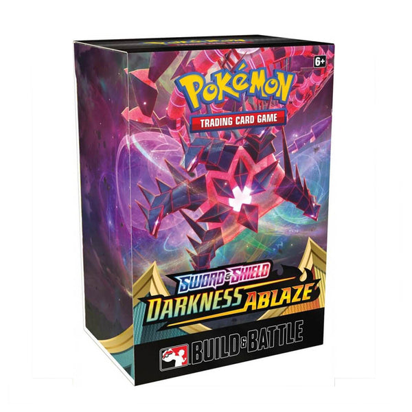 Pokemon TCG Sword & Shield Darkness Ablaze Build & Battle Box - The Feisty Lizard Melbourne Australia