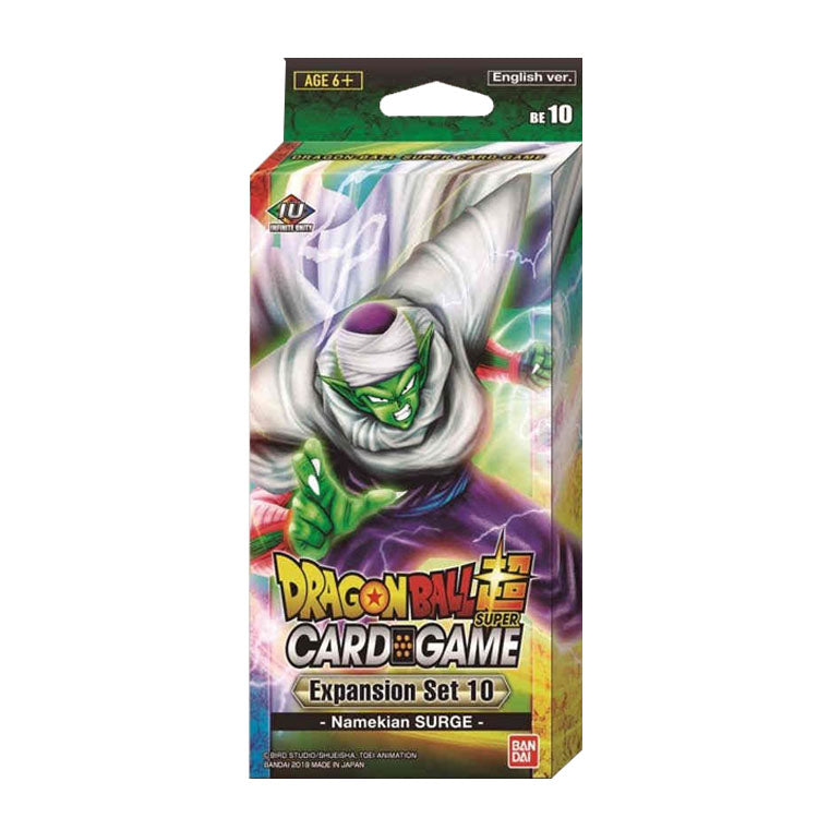 Dragon Ball Super Card Game Expansion Set 10 Namekian Surge - The Feisty Lizard Melbourne Australia