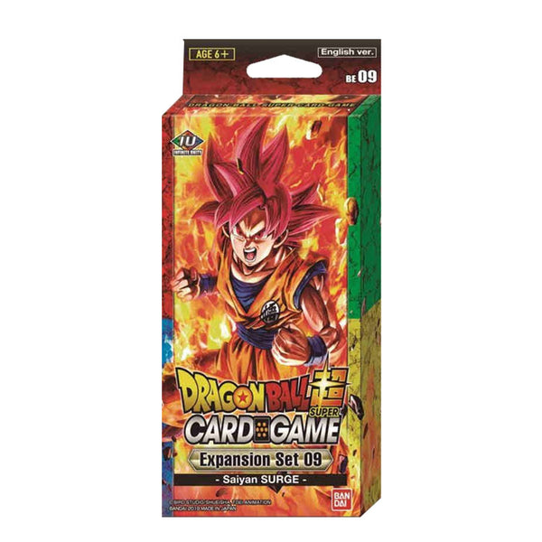 Dragon Ball Super Card Game Expansion Set 9 Saiyans Surge - The Feisty Lizard