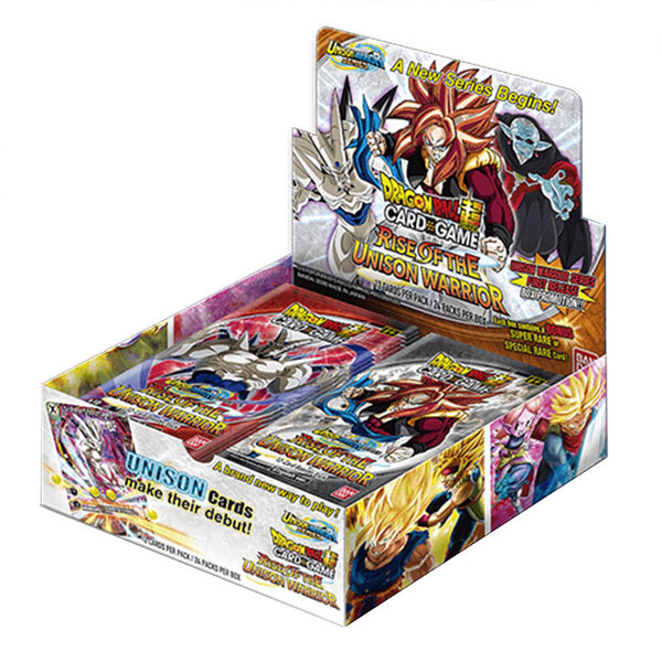 Dragon Ball Super TCG Series 10 Rise of the Unison Warrior Booster Box - The Feisty Lizard Melbourne Australia
