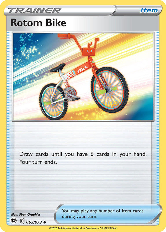 063/073 Rotom Bike Trainer Uncommon Champion's Path - The Feisty Lizard Melbourne Australia