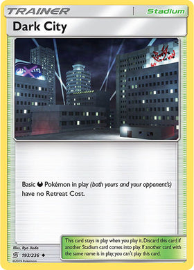 193/236 Dark City Uncommon Trainer Unified Minds - The Feisty Lizard