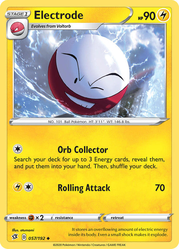 057/192 Electrode Uncommon Rebel Clash - The Feisty Lizard Melbourne Australia