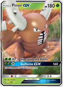 6/68 Pinsir GX Ultra Rare Hidden Fates - The Feisty Lizard Melbourne Australia