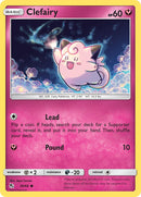 38/68 Clefairy Common Hidden Fates - The Feisty Lizard Melbourne Australia
