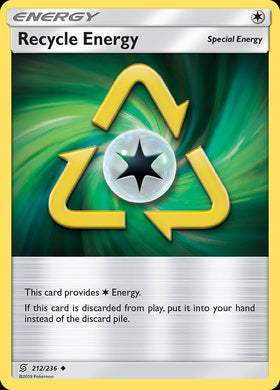 212/236 Recycle Energy Uncommon Trainer Unified Minds - The Feisty Lizard