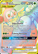 237/236 Rowlet & Alolan Exeggutor GX Tag Team Secret Rare - The Feisty Lizard Melbourne Australia