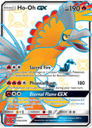 SV50/SV94 Ho-Oh GX Full Art Shiny Secret Rare Hidden Fates - The Feisty Lizard