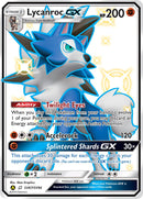 SV67/SV94 Lycanroc GX Full Art Shiny Secret Rare Hidden Fates - The Feisty Lizard
