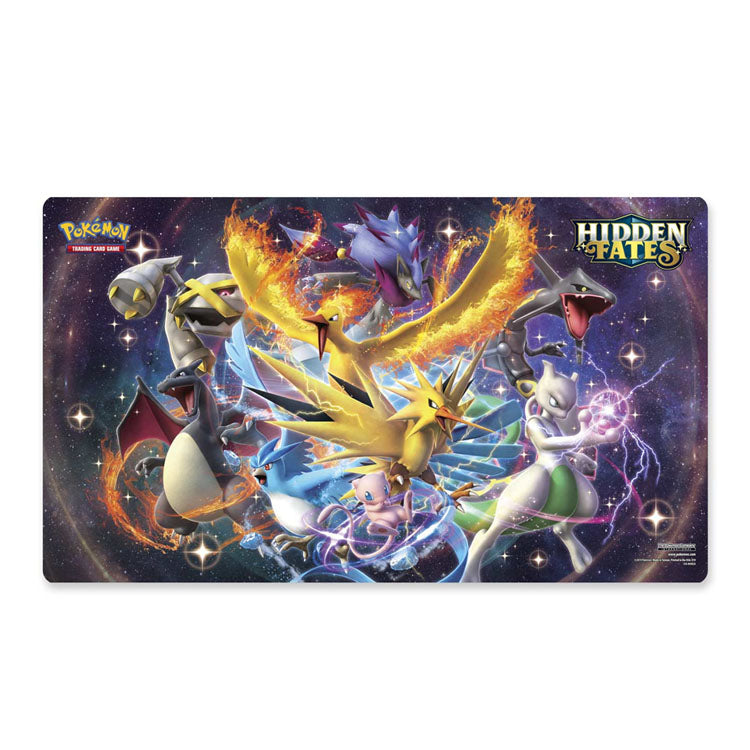 Pokemon Hidden Fates Playmat Shining Pokemon - The Feisty Lizard Melbourne Australia