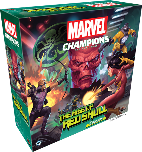 Marvel Champions The Rise of Red Skull Campaign Expansion - The Feisty Lizard