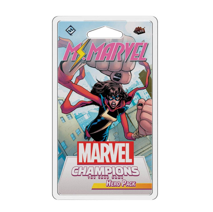 Marvel Champions LCG Ms Marvel Hero Pack - The Feisty Lizard Melbourne Australia