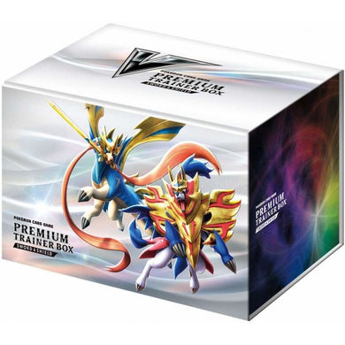 Pokemon TCG Sword & Shield Premium Trainer Box Japanese (PRE-ORDER) - The Feisty Lizard