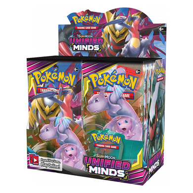 Pokemon TCG Sun & Moon Unified Minds Booster Box - The Feisty Lizard