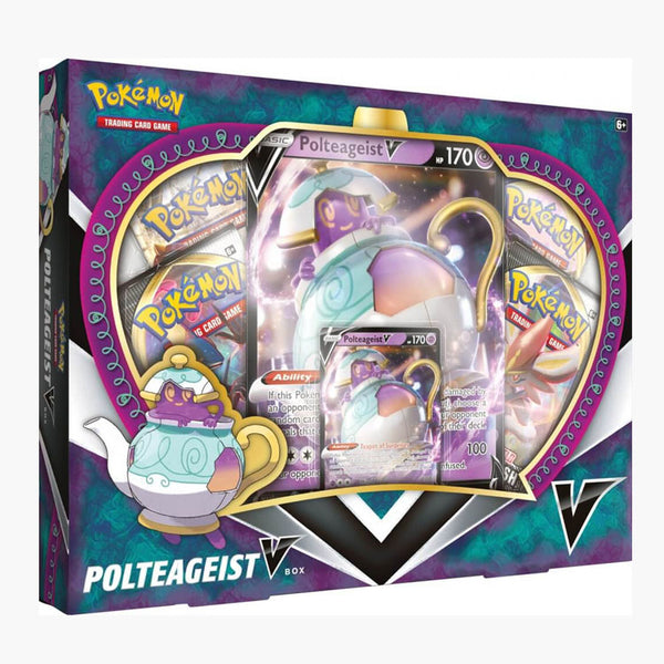 Pokemon TCG Polteageist V Box (PRE-ORDER) - The Feisty Lizard Melbourne Australia
