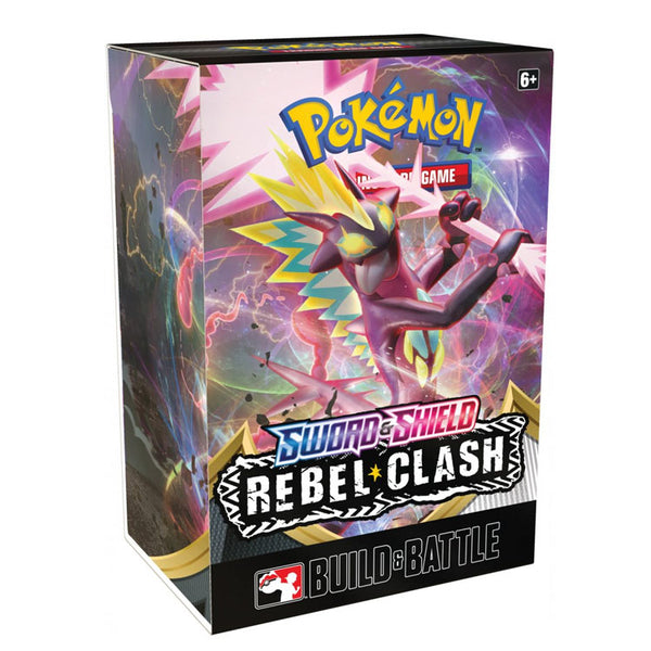 Pokemon TCG Sword & Shield Rebel Clash Build & Battle Box (PRE-ORDER) - The Feisty Lizard