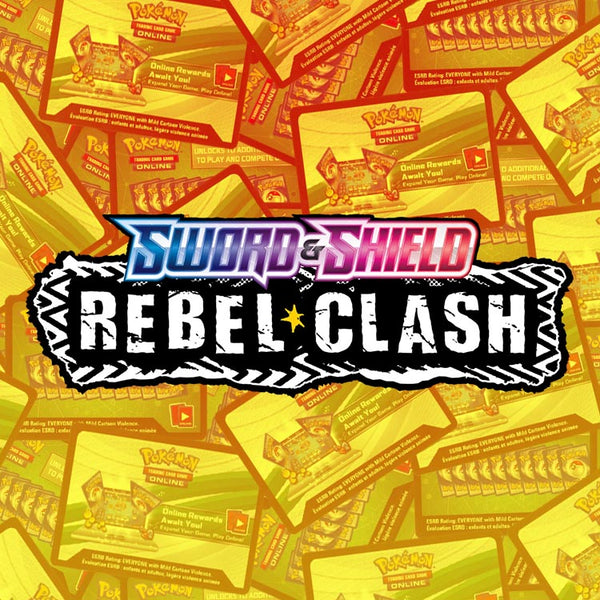 Pokemon TCG Rebel Clash PTCGO Online Codes x50 - The Feisty Lizard Melbourne Australia