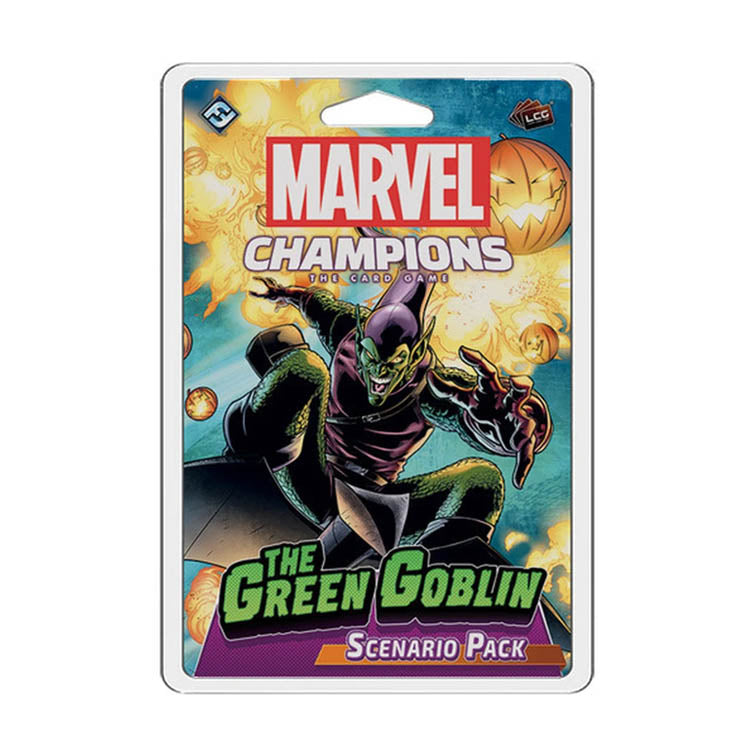 Marvel Champions LCG The Green Goblin Scenario Pack - The Feisty Lizard