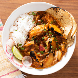 Charred Pineapple Pibil With Chicken