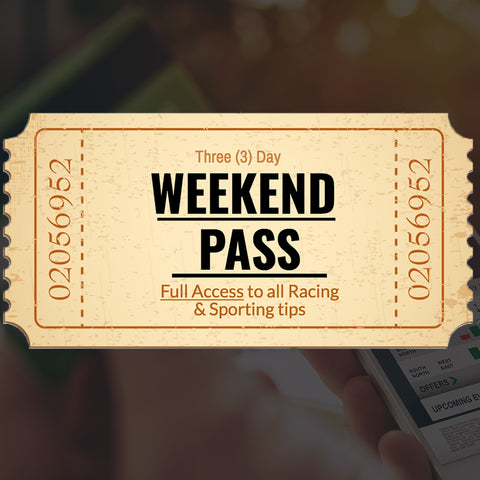WEEKEND GOLD PASS - 3 DAYS