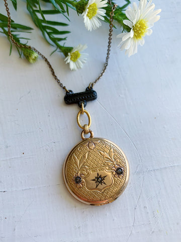 Star Shield Locket