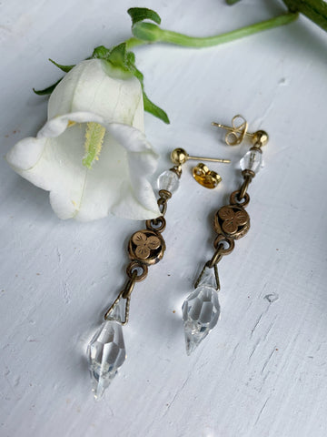 Victorian Clover Earrings
